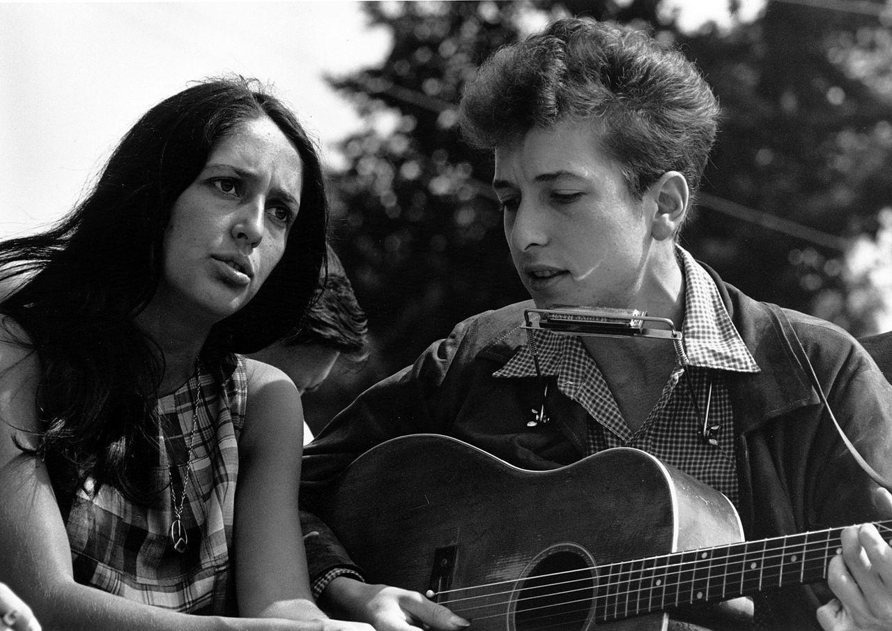 1280px Joan Baez Bob Dylan