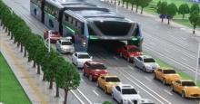 Το πρώτο λεωφορείο που θα περνά πάνω από αυτοκίνητα είναι γεγονός!(vid)