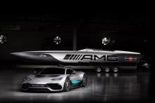 Mercedes AMG x Cigarette Racing 515, στυλ υψηλών επιδόσεων