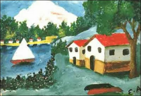 Esref Armagan painting3