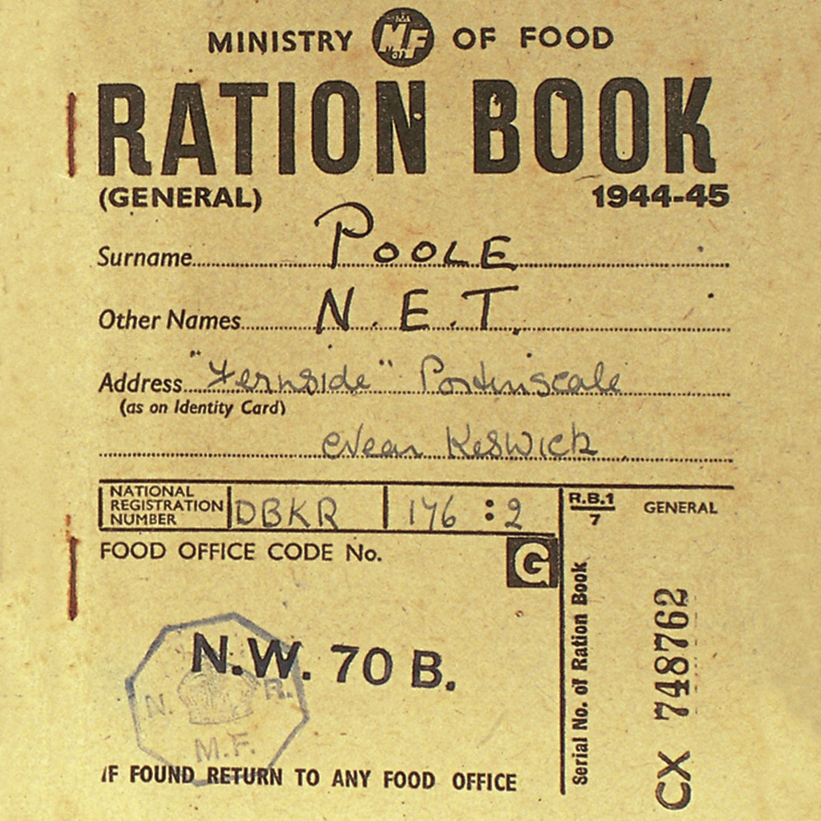 coaster ration book