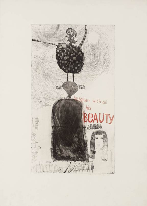 david hockney kaisarion and all his beauty