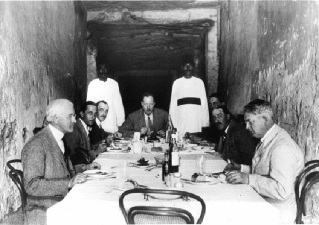 789860 Lunch in the tomb of Ramesses XI Griffith Institute