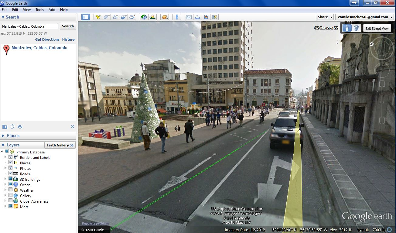 Google Street View Colombia screenshot