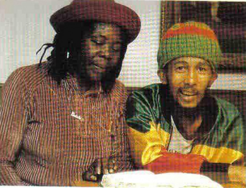 bob marleys last photo