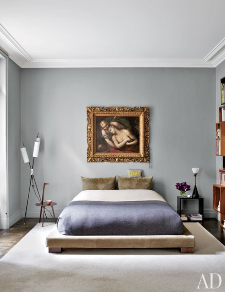 stefano pilato paris duplex master bedroom