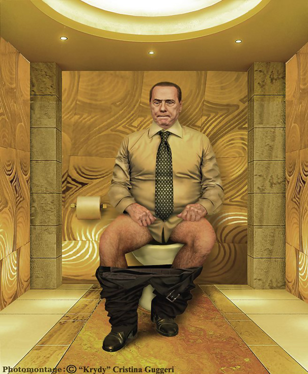 world leaders pooping the daily duty cristina guggeri 3