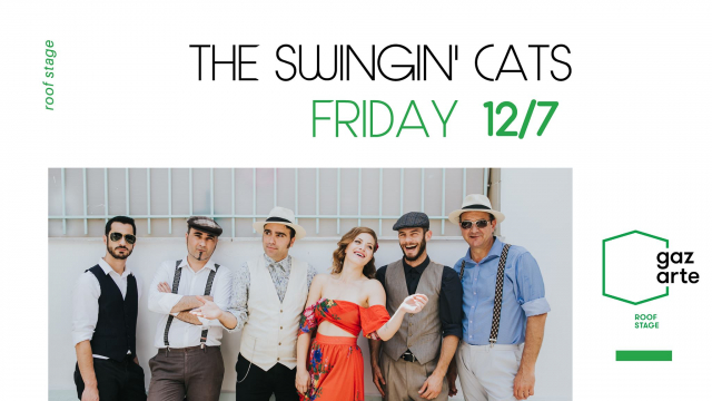 The Swingin' Cats Special Edition Παρ. 12 Ιουλίου Gazarte