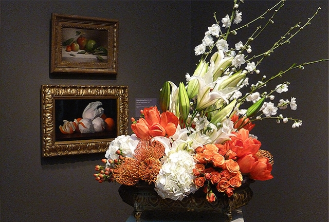 Bouquets to Art, DeYoung Museum, San Francisco
