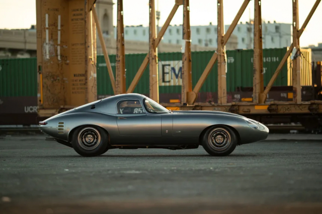 Ένα σπάνιο custom 1963 Jaguar E-Type Low Drag Coupe